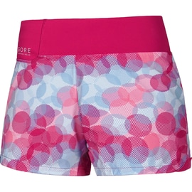 Gore Running Wear Sunlight Lady Print Shorts Rot