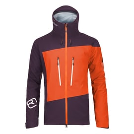 Ortovox 3L Guardian Shell Jacket Men Orange