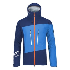 Ortovox 3L Guardian Shell Jacket Men Dunkelblau