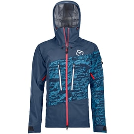 Ortovox 3L Guardian Shell Jacket Women Dunkelblau