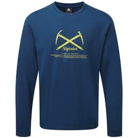 Mountain Equipment Alpinist LS Tee Men Dunkelblau