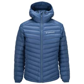 Peak Performance Frost Down Hood Men Blau