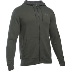 Under Armour Triblend Full Zip Hoodie Oliv