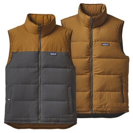 Patagonia M´s Reversible Bivy Down Vest Anthrazit