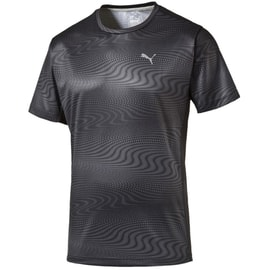 Puma Essential Graphic Tee Grau