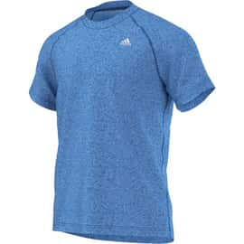 adidas Base Plain Tee Seasonal Heather Blau