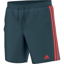 adidas 3 Stripes Classic Short Middle Lenght Boys Dunkelgrün