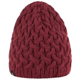Peak Performance Embo Knit Hat Dunkelrot