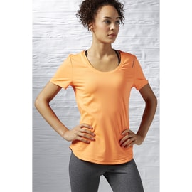 Reebok Work Out Ready SpeedWick Tee Orange
