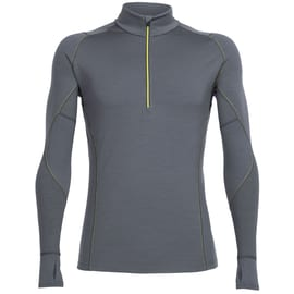 Icebreaker Mens Winter Zone LS Half Zip Anthrazit