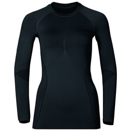 Odlo EVOLUTION WARM Shirt l/s crew neck W Schwarz