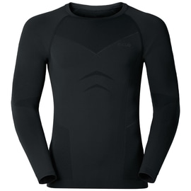 Odlo EVOLUTION WARM Shirt l/s crew neck M Schwarz