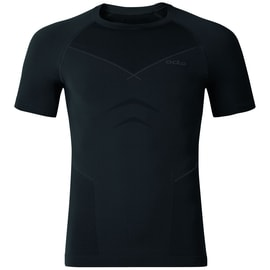 Odlo EVOLUTION WARM Shirt s/s crew neck M Schwarz