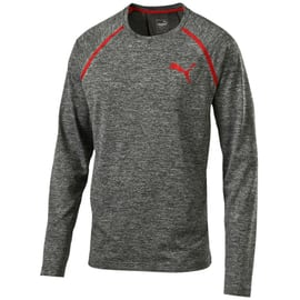 Puma Bonded Tech LS Tee Anthrazit
