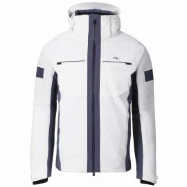 Kjus Men Downforce Jacket Weiß