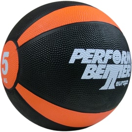 Perform Better Medizinball 5 kg (Durchmesser 23,5 cm) Orange