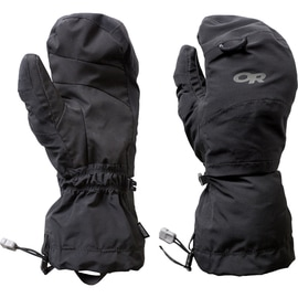 Outdoor Research Shuksan Shell GTX Mitts Uni Schwarz