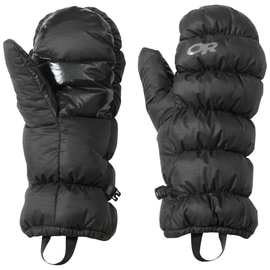 Outdoor Research Transcendent Mitts Down Uni Schwarz