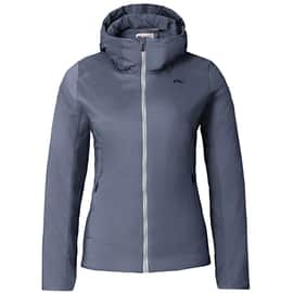 Kjus Ladies FRX 3D Hooded Jacket Hellgrau