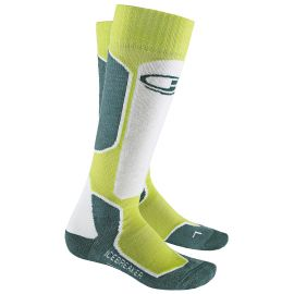 Icebreaker Ski+ OTC Light Cushion Women Lime