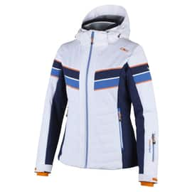 WOMAN SKI JACKET STRETCH ZIP HOOD