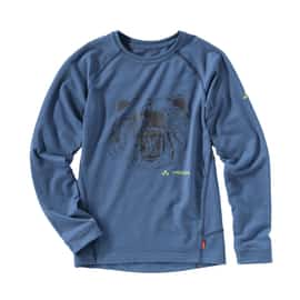 Vaude Boys Paul LS Shirt Blau