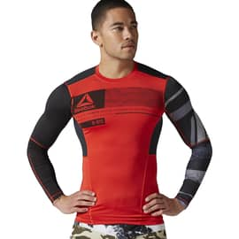 Reebok ONE Series ACTIVChill LS Compression Top Rot