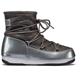 Moon Boot Moon Boot WE Low Lurex Silber
