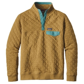Patagonia M´s Cotton Quilt Snap-T Pullover Braun