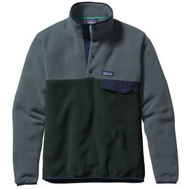 Patagonia M´s LW Synchilla Snap-T Pullover Grün