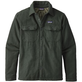 Patagonia M´s Insulated Fjord Flannel Jacket Grün