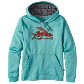 Patagonia M´s flying Fish PolyCycle Hoody Petrol