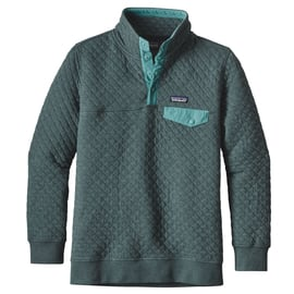 Patagonia W´s Cotton Quilt Snap-T Pullover Grün