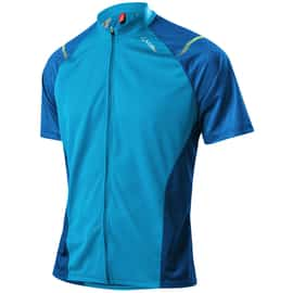 Löffler Hr. Bike Shirt Como FZ Blau