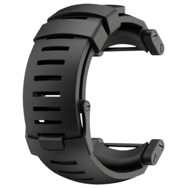 Core Black Rubber Strap