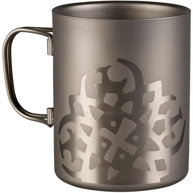 Titanium Mug Double Wall 450 ml.