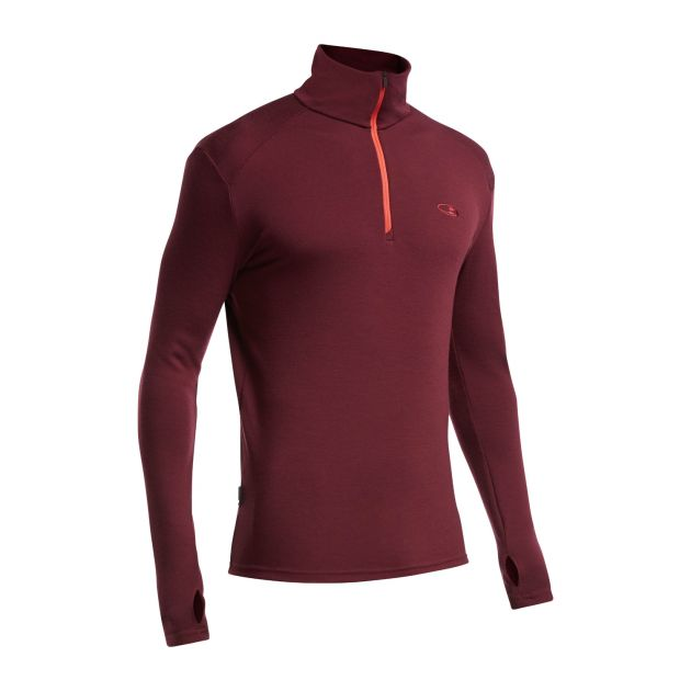 Mens Apex LS Half Zip