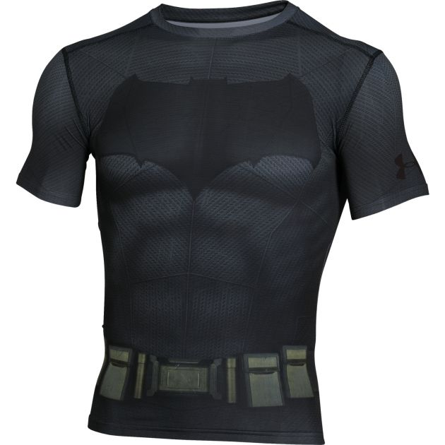 UA Batman Compression SS Tee