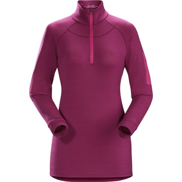 Satoro AR Zip Neck LS Women