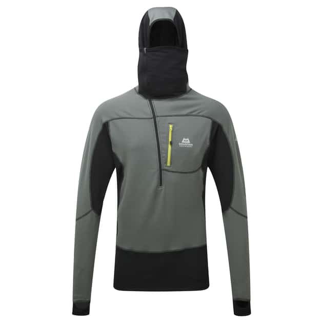 Eclipse Hooded Zip Tee Men