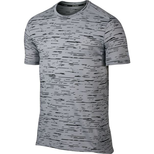 M Nike Dry Top SS Tailwind Print