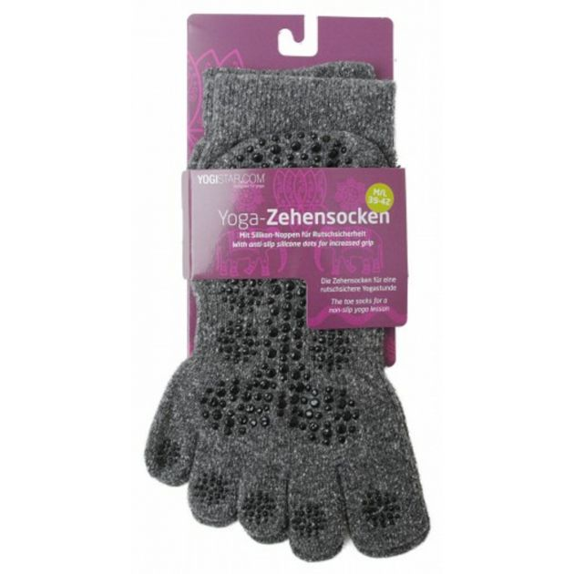 Yoga-Zehensocken 39-42