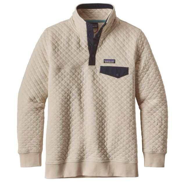 W´s Cotton Quilt Snap-T Pullover