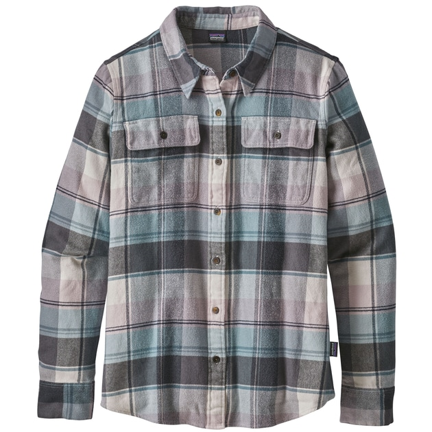 Patagonia Ws L/S Fjord Flannel Shirt bei Sport Schuster München