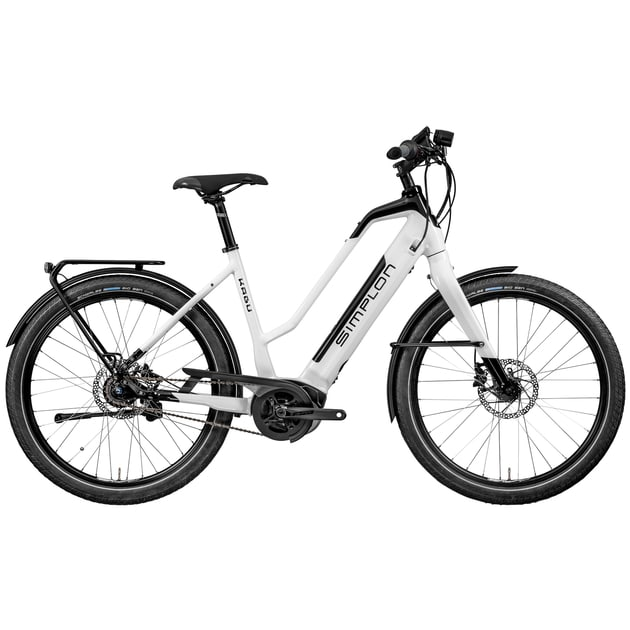 Simplon Damen (Weiß 46 in cm ) | E-Bikes