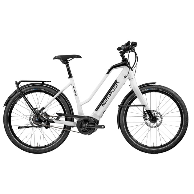 Simplon Damen (Weiß 51 in cm ) | E-Bikes